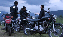 Like a Boss: Thundering across the plains and through the winding hill roads of Nepal in a classic Royal Enfield Motorcycle