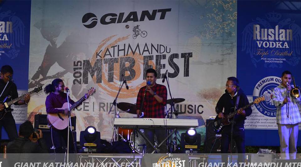 Kathmandu MTB Fest rock show