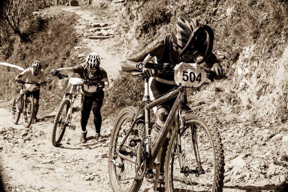 Himalayan Rush Cyclists